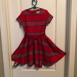 Land's End Girl's Christmas dress